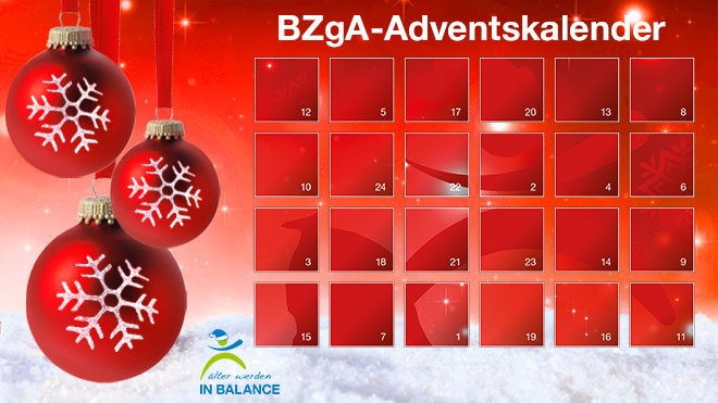 BZgA-Adventskalender 2018